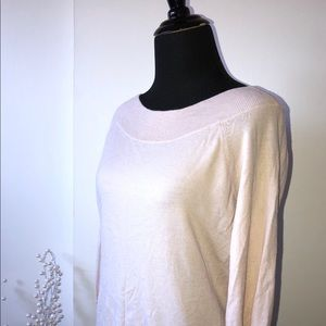 Banana Republic Blush Pink Sweater - Sz M